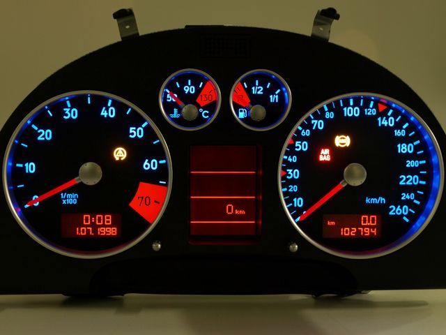 Tacho Design Audi Tt 8n Beleuchtungswechsel