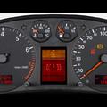 Audi A4 (8D)/ A6 (4B) Tacho Reparatur, Pixelfehler im FIS (Fahrer-Informationssystem), Display defekt, Lufteinschluss im Display, Warnsummer ohne Funktion