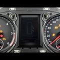 VW Passat B6 (3C) MOPF mit FIS vor und nach der Reparatur