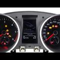 VW Golf 6 (1K/5K) mit FIS vor und nach der Reparatur